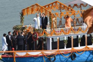 In pics: PM Modi-Macron bonhomie reaches Varanasi
