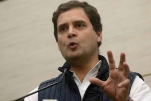 Hope '56 inch strongman' has a plan on Doklam, Rahul taunts Modi