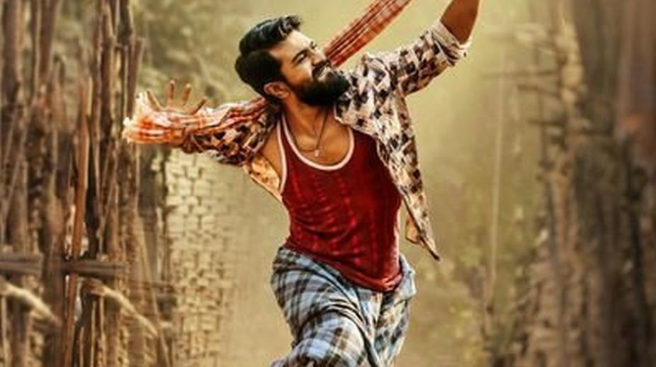 Ram Charan Teja transforms in 'Rangasthalam'