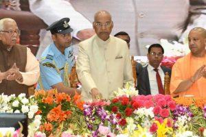 President Ram Nath Kovind in Varanasi