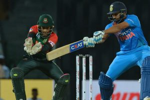 Nidahas Trophy: Rohit Sharma pyrotechnics power India into final