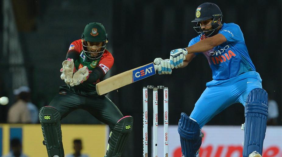 Rohit Sharma, India vs Bangladesh, Nidahas Trophy 2018