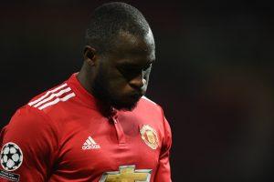 Romelu Lukaku reacts to Manchester United's calamitous loss to Sevilla