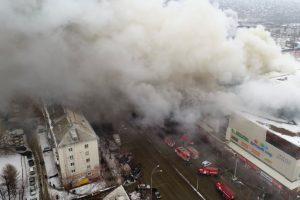 Putin blames Russian mall fire on 'criminal negligence': Kremlin