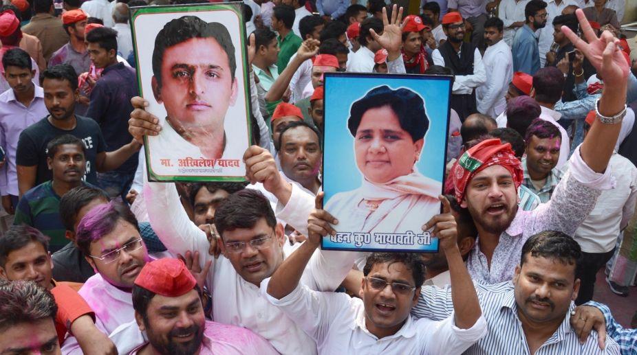 Samajwadi Party celebrations