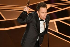 Academy awards: Sam Rockwell wins his first Oscar