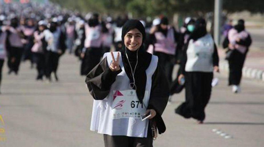 Saudi Arabia first Women Marathon