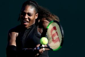 Miami Open: Serena Williams crashes out in opener