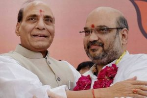 New Meghalaya government to be sworn-in today; Rajnath, Shah to attend