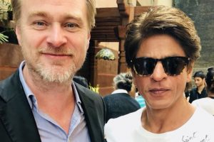 SRK's 'fanboy moment' with Christopher Nolan is too good to miss