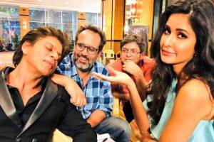 Shah Rukh Khan's sleepy mode from the sets of 'Zero'