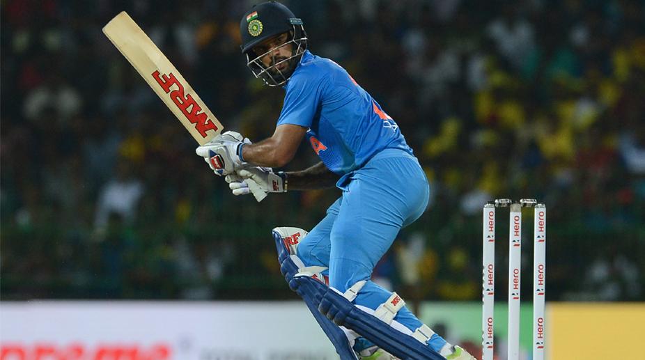 Shikhar Dhawan, India vs Sri Lanka