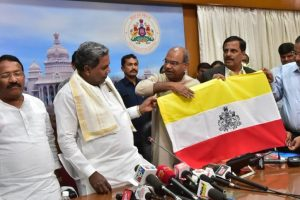 Karnataka flag 'on hold' due to election code of conduct: MHA
