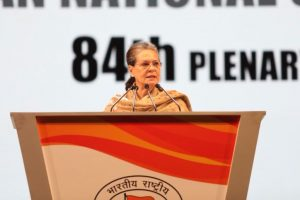 Sabka Saath Sabka Vikas was 'dramebaazi', says Sonia Gandhi at Congress Plenary