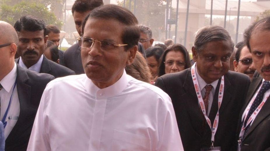 Sri Lanka, President, Maithripala Sirisena