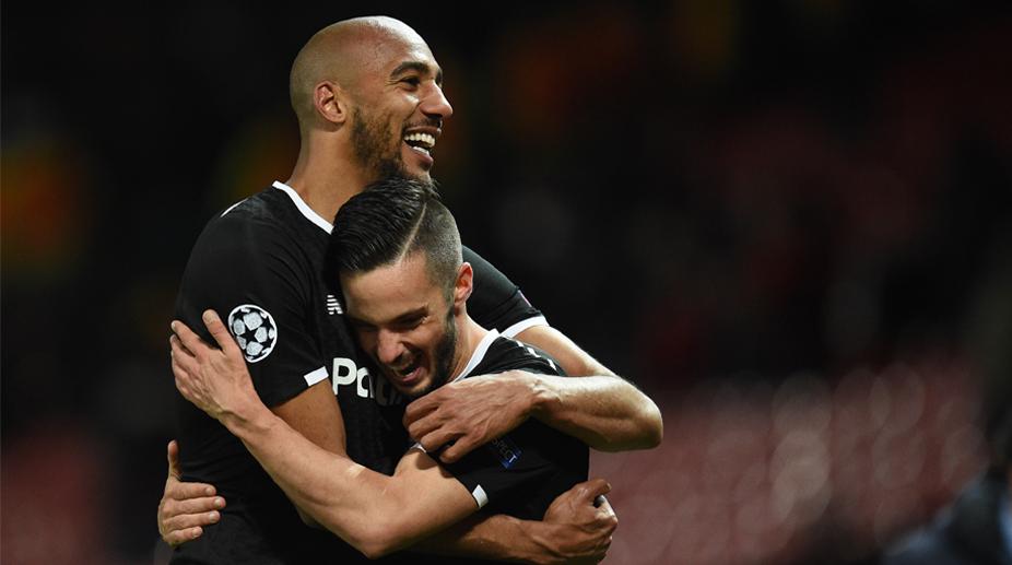 Steven Nzonzi, Pablo Sarabia, Sevilla F.C., UEFA Champions League, Manchester United vs Sevilla