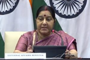 Shanghai Cooperation Summit: Sushma Swaraj to visit China later this week