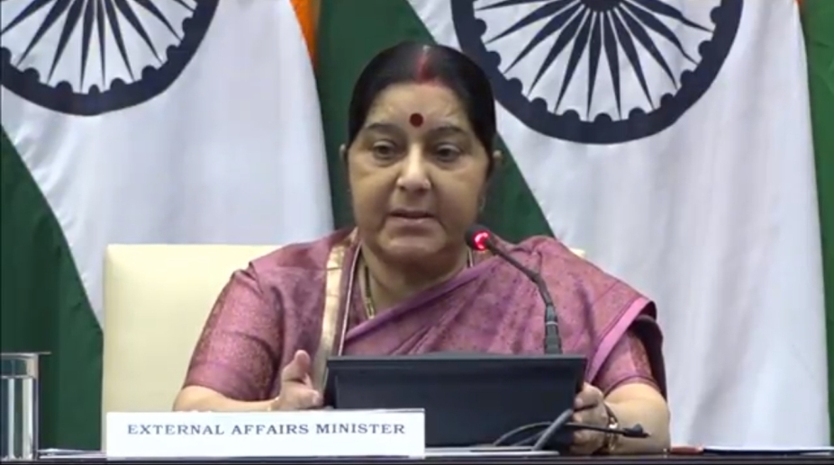 Sushma Swaraj, Congress, foreign policy, External Affairs Minister