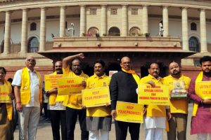 Protests that foretold TDP 'separation' from NDA