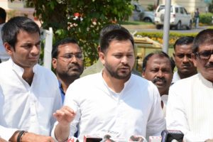 Tejashwi Yadav slams NITI Aayog chief over Bihar remark