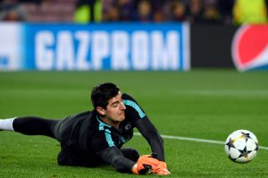 Thibaut Courtois admits individual mistakes cost Chelsea against Barcelona