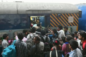 Job-seekers agitation paralyses Central Railway