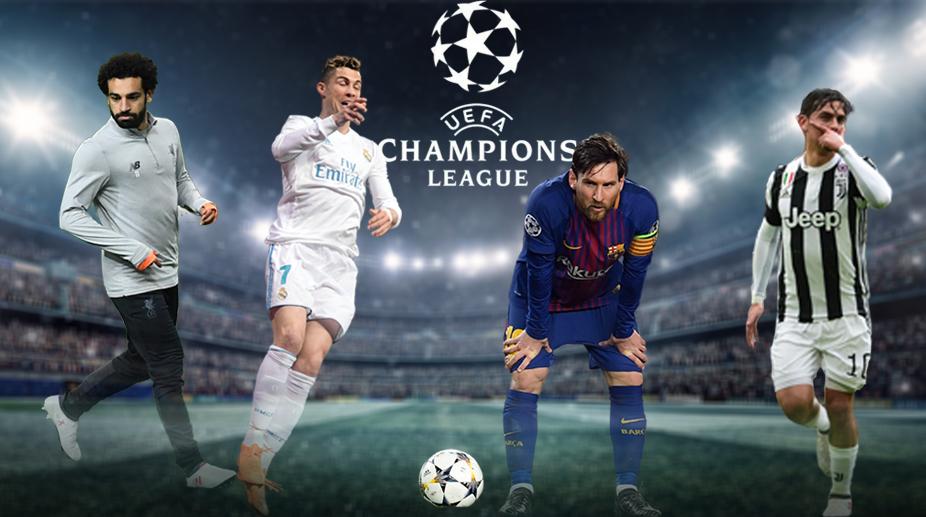 UEFA Champions League, Mohamed Salah, Cristiano Ronaldo, Lionel Messi, Paulo Dybala, UEFA Champions League Quarter-finals