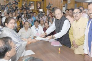 8 BJP candidates file nominations for UP RS seats