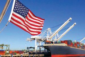 US trade deficit drops 15%