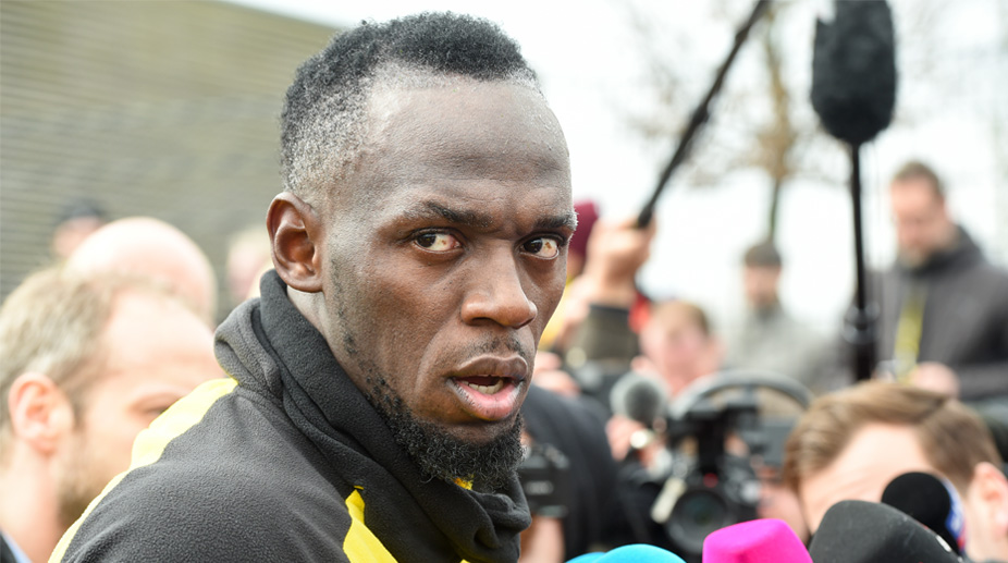 Go Behind the Scenes of Usain Bolt's Training Session at Borussia Dortmund