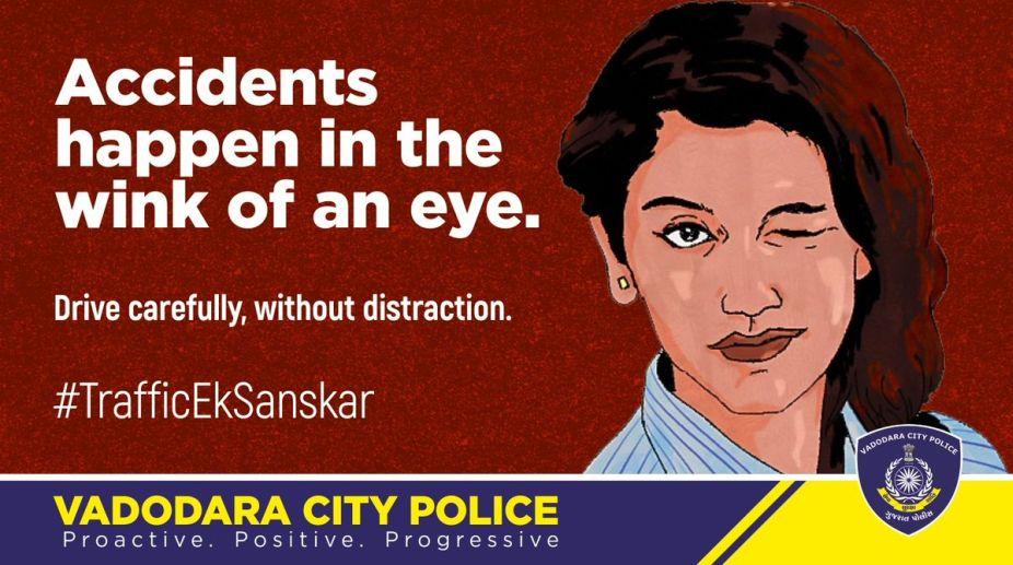 Vadodra City Police, Priya Prakash Varrier