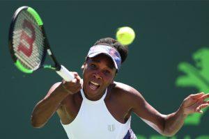 Miami Open: Venus Williams outlasts Kiki Bertens to set up Johanna Konta clash