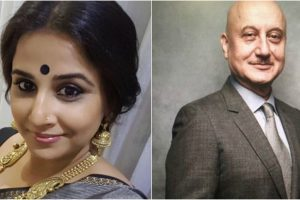 Vidya Balanto AnupamKher:Actors to play a politician in 2018