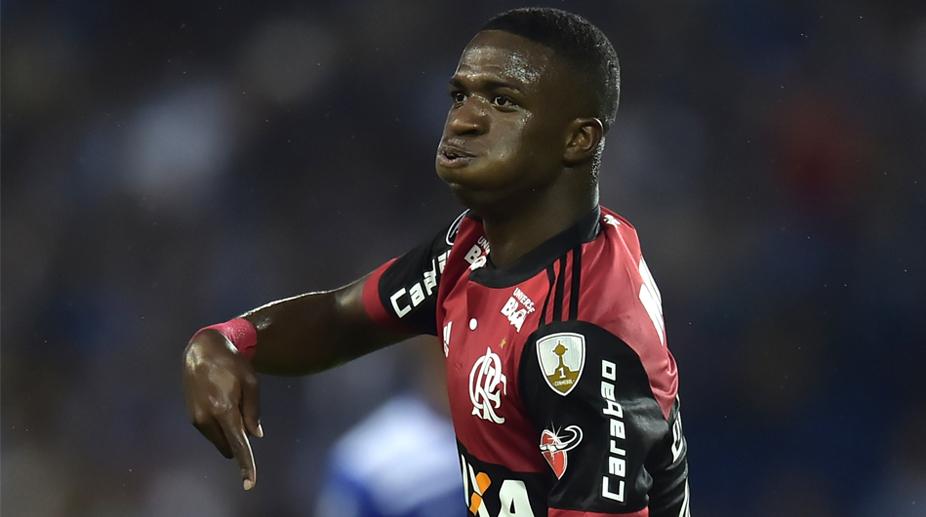 Vinicius Junior, Flamengo, Copa Libertadores