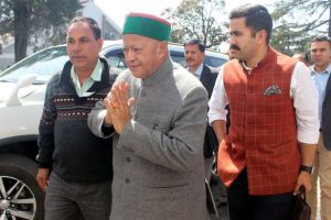Virbhadra accuses Sukhu of creating rift within party