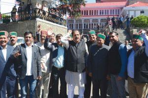 CM Jai Ram Thakur highlights new schemes in budget reply, Cong walkout