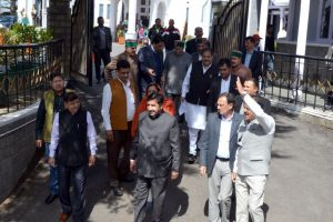 Cong stages walkout, charges govt with misleading public