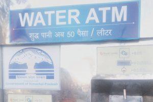 Drinking water ATMs fail in Shimla city