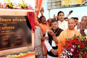 CM Yogi Adityanath inaugurates Hindon elevated corridor at Ghaziabad