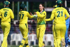 INDW vs AUSW, 1st ODI: Australia beat India by eight wickets