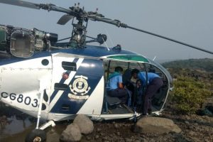Injured in Raigad crash landing, Coast Guard helicopter pilot dies