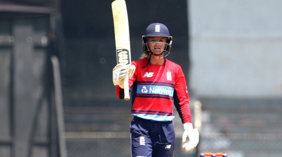 Danni Wyatt smashes century in England Women record T20 run chase