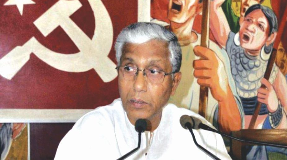 Former Chief Minister of Tripura Manik Sarkar.