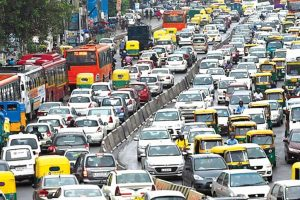 Traffic menace of the city to be curbed