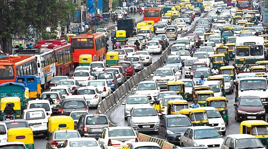 traffic, India, Driving, Chandigarh