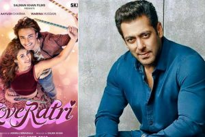 Loveratri teaser to have voice-over by Salman Khan