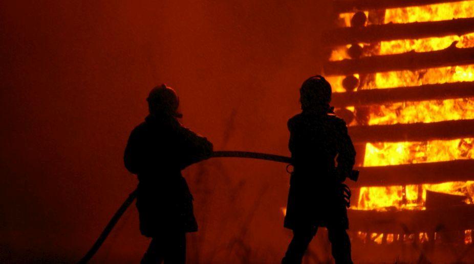 Fire, Firemen, Fire tenders