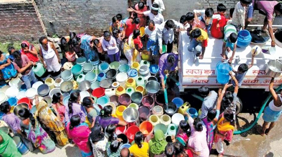 India water crisis, water crisis, NITI Aayog, Composite Water Management Index