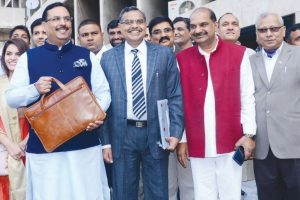 Haryana FM presents over 1.15 lakh cr Budget