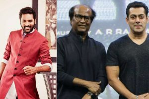 Salman Khan is lot like Rajinikanth Sir, says Prabhudeva